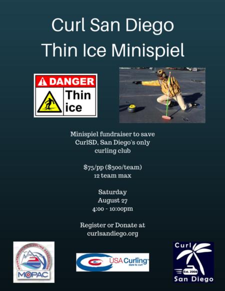 Thin Ice MinispielFundraiser
